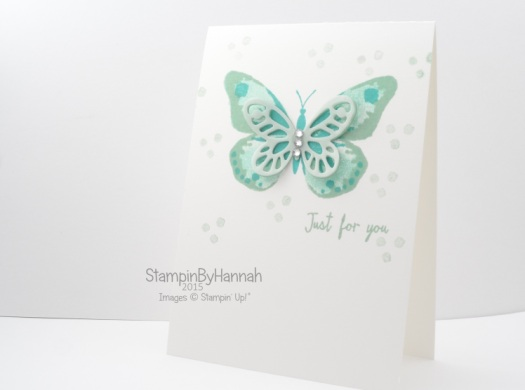 Stampin' Up! UK Watercolour Wings