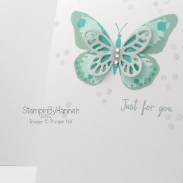 Stampin' Up! UK Watercolor Wings class