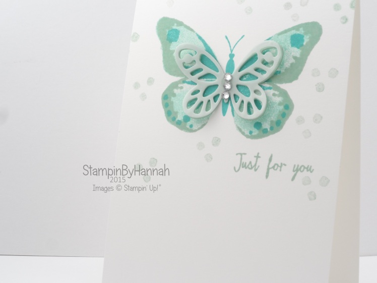 Stampin' Up! UK Watercolor Wings class