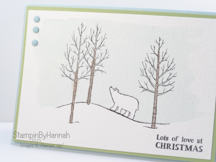 Stampin' Up! UK White Christmas