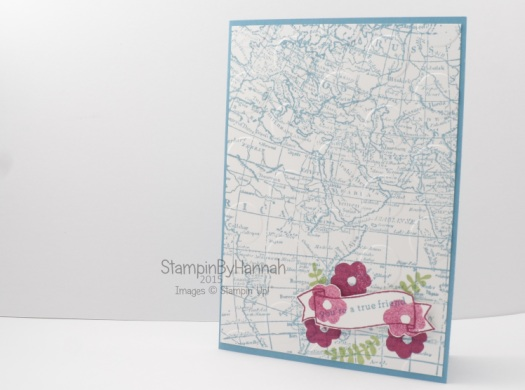Stampin' Up! uk endless thanks world map