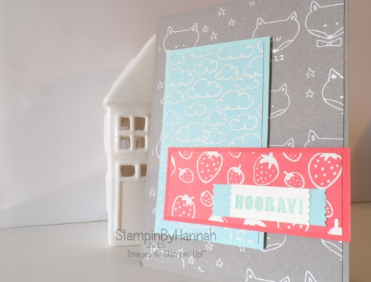 Stampin' Up! UK Sweet Lil Things Card