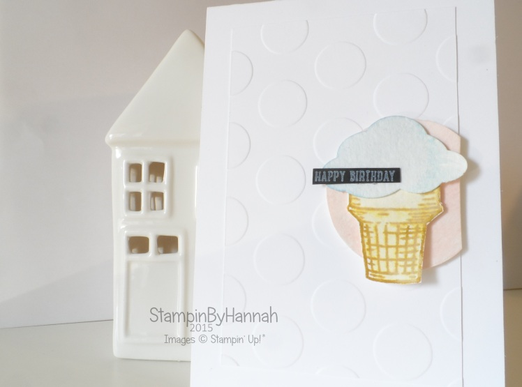 Stampin' Up! UK Artisan Design Team Sprinkles of Life Happy Birthday CASE card