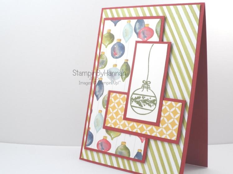 Stampin' Up! Seasons of Cheer Designer Series Paper cardmaking
