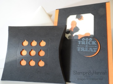 Stampin' Up! Halloween Pillow Box