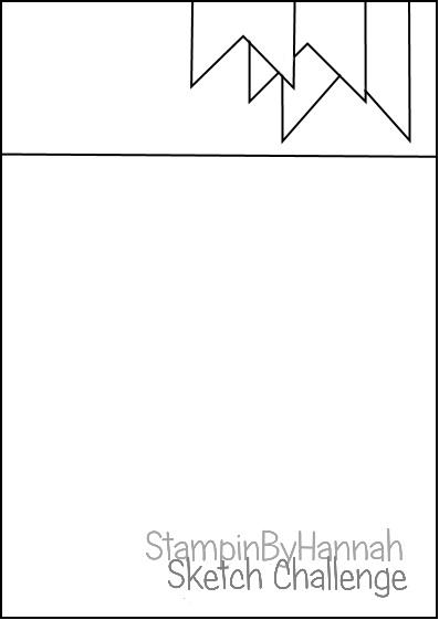 StampinByHannah October Sketch Challenge