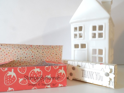 Stampin' Up! UK Kindness Projects Parma Violets Box Video Tutorial