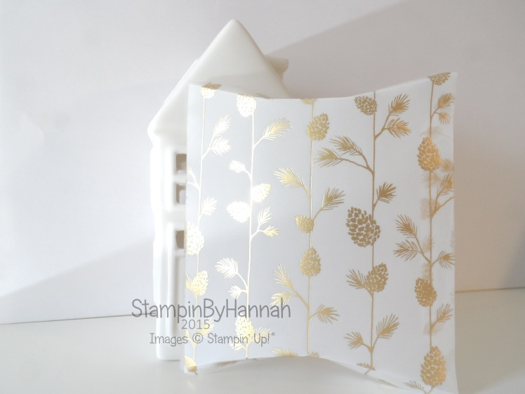 Stampin' Up! UK Square Pillow box top tips