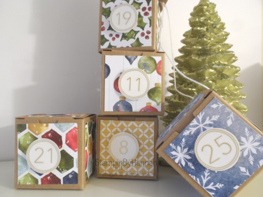 Stampin' Up! Advent Calender Video Tutorial