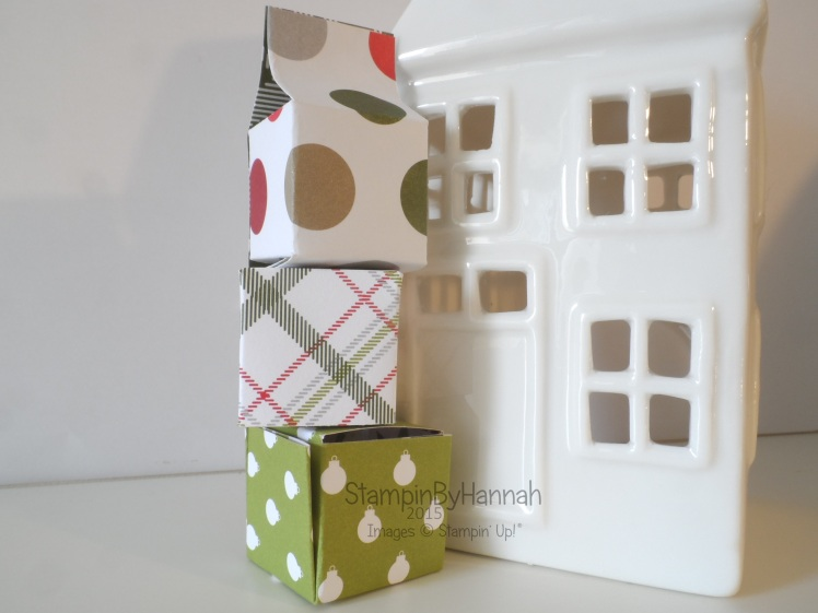 Stampin' Up! 12 weeks of Christmas Cute boxes