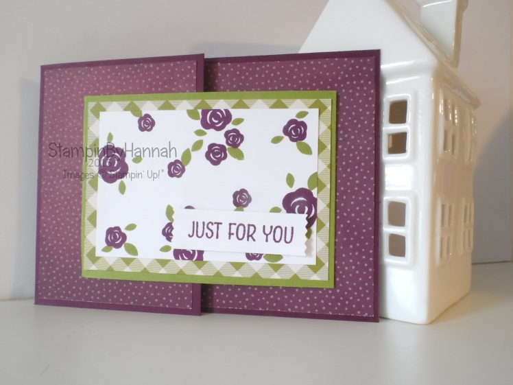 Stampin' Up! UK joy fold Farmers Market Floral Wings