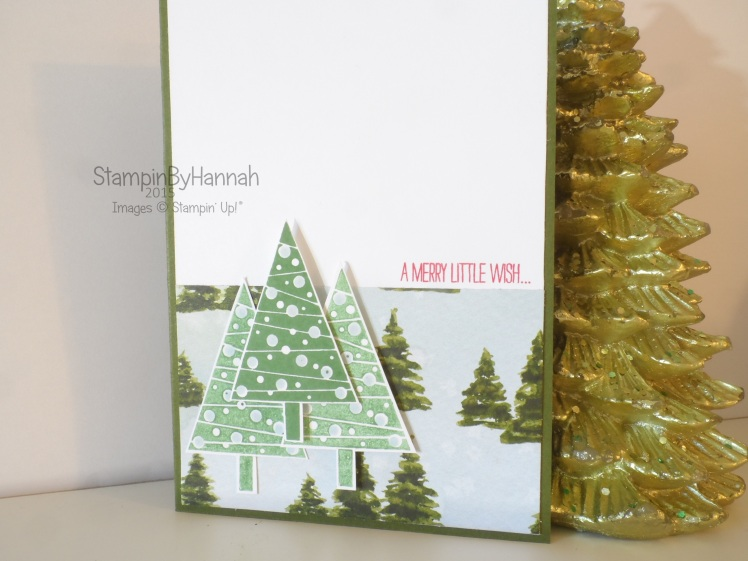 Stampin' Up! Sketch Challenge Festival of Trees