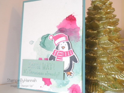Stampin' Up! UK Christmas card video
