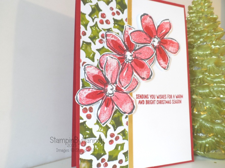 Stampin' Up! UK Garden in Bloom Season of Cheer