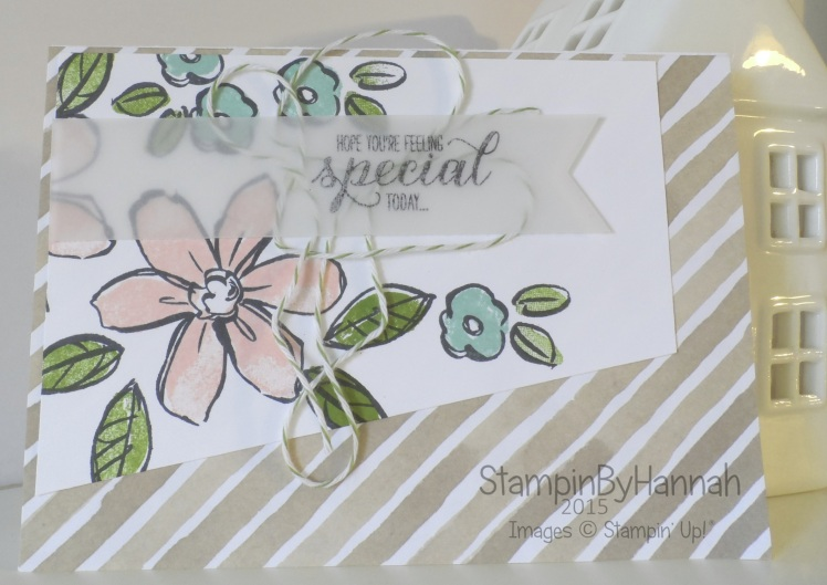 Stampin' Up! UK Garden In Bloom