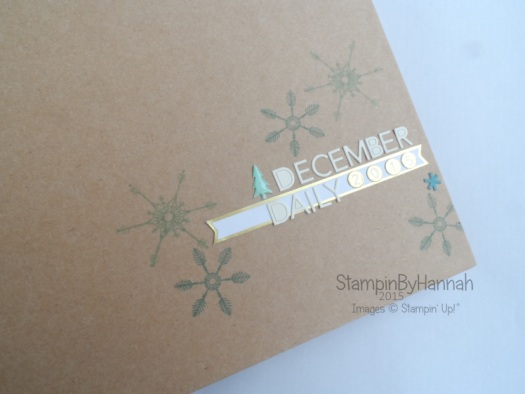 Stampin' Up! December Daily