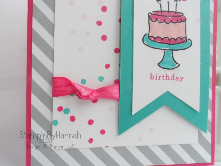 Stampin' Up! UK Endless Birthday Wishes Birthday card