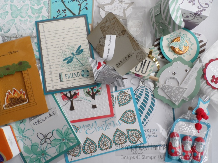 Stampin' Up! On Stage Live Swaps
