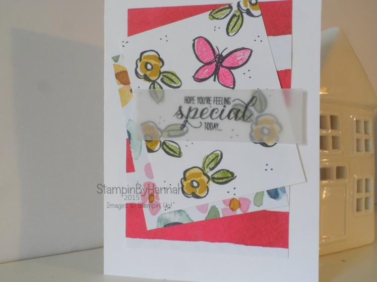 Stampin' Up! UK Garden in Bloom birthday card