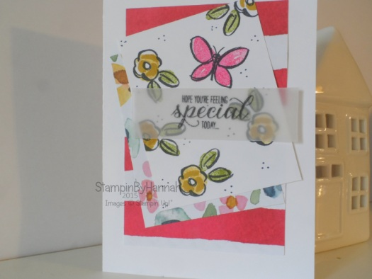 Stampin' Up! UK Garden in Bloom birthday card