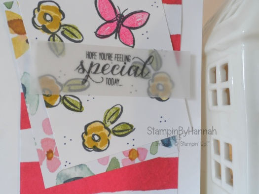 Stampin' Up! Sketch Challenge Garden in Bloom