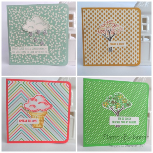 Stampin' Up! UK Sprinkles of Life Cards