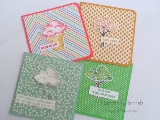 Stampin' Up! UK Sprinkles of Life Card collection