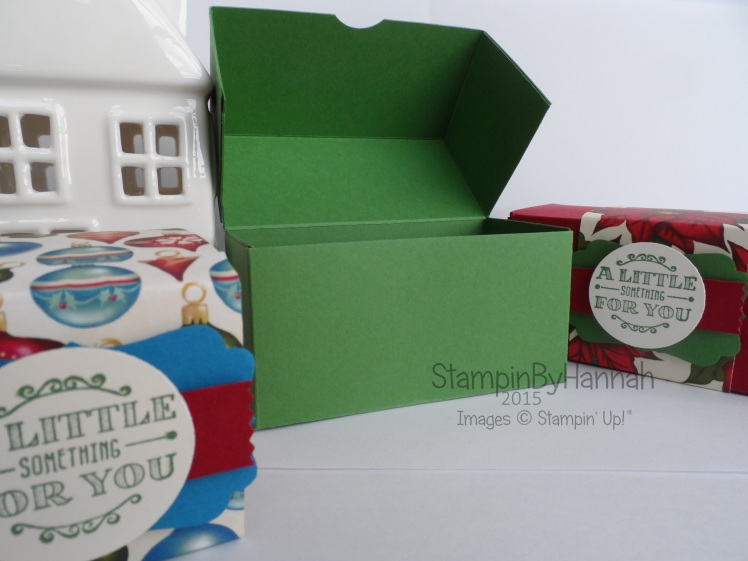 Stampin' Up! UK 12 Weeks of Christmas Chocolate box