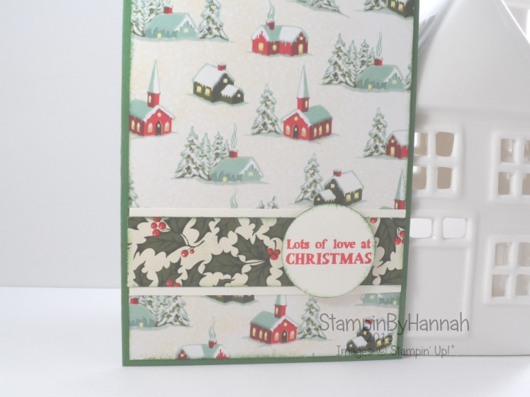 Stampin' Up! UK Designer Series Paper Christmas Card