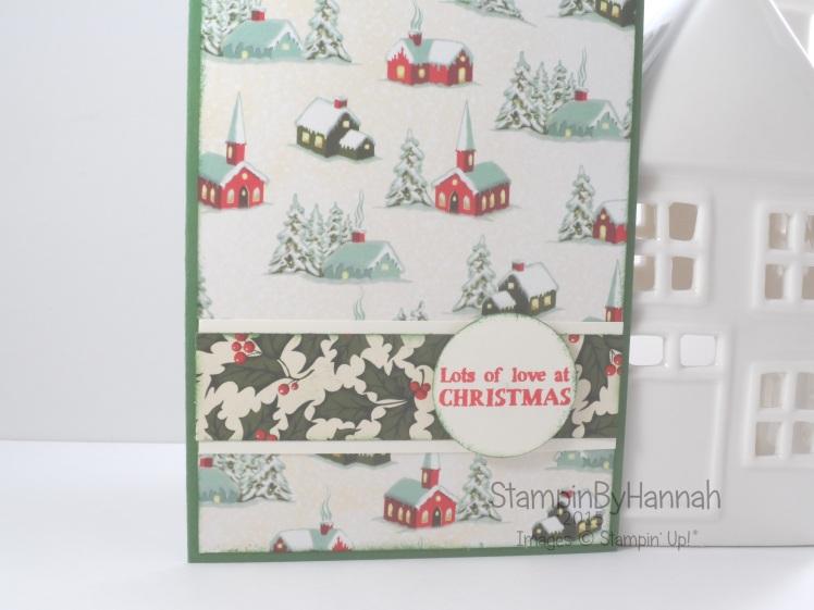 Stampin' Up! UK Designer Series Paper Christmas Card