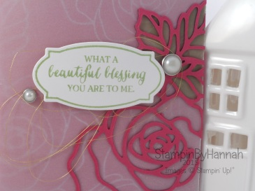 Stampin' Up! UK Rose Wonder Card