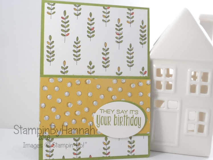 Stampin' Up! UK Sale-a-bration 2016 Wildflower Fields