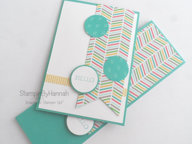 Simply Sketched Saturday Challenge Stampin' Up! Card