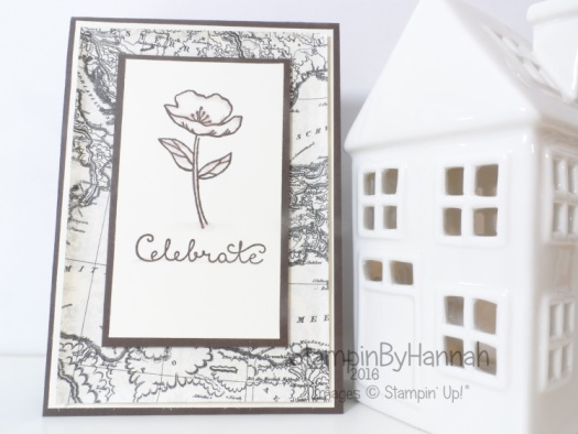 Stampin' Up! UK Celebrate Suite Sayings Birthday Blooms