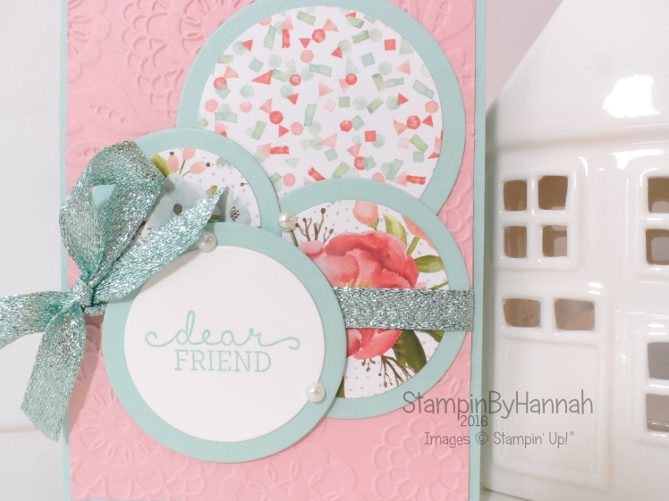 Stampin' Up! UK Circle Card