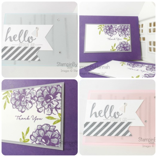 Stampin' Up! Uk Team Training Make and Takes