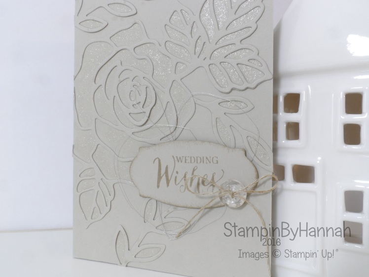Stampin' Up! UK Rose Wonder Wink of Stella