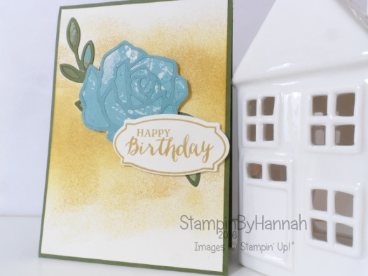 Stampin' Up! UK Rose Wonder