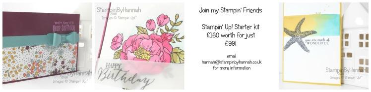 Stampin' Up! UK Starter kit join now