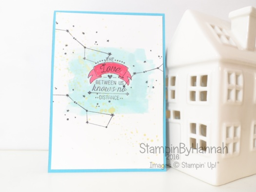 Stampin' Up! UK Going Global Valentines card