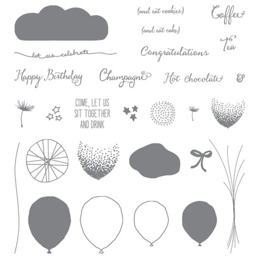 Stampin' Up! Balloon Celebration