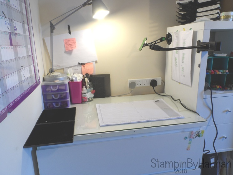 StampinByHannah Where I create