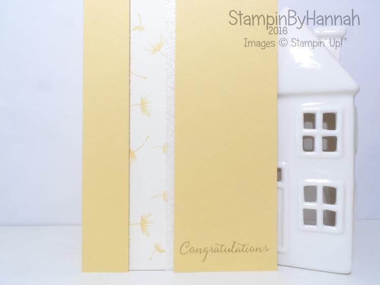 Stampin' Up! Uk Balloon Celebration Congratulations Card