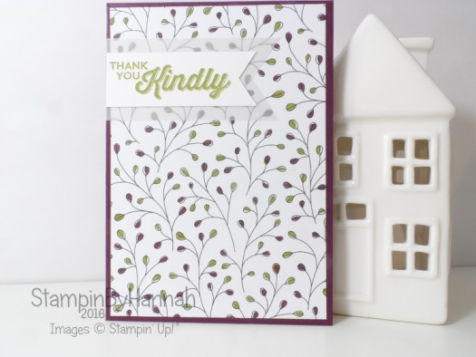 Stampin' Up! Thank you Sale-a-bration