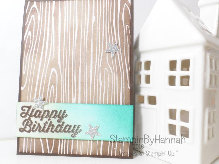 Stampin' Up! UK Colour me irresistible boys birthday card