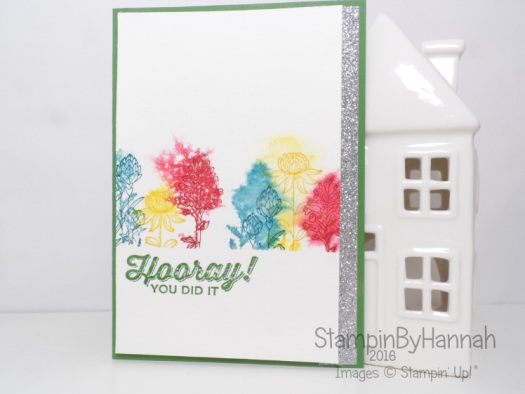 Make it Monday Reactive Watercolour with Stampin' Up! f