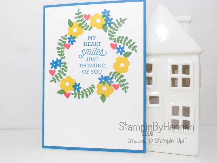 Stampin' Up! UK Suite Sayings Endless Thanks Card