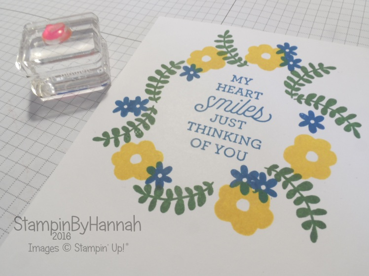 Make it Monday Using Small Stamps
