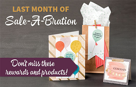 Stampin' Up! Sale-a-bration