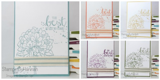 Stampin' Up! UK In colours 2014-2016